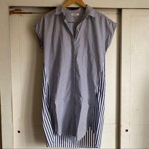 Madewell Striped Shirt Dress
